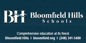 Bloomfield Hills Schools, Bloomfield Hills, Michigan. Comprehensive education at its finest.
